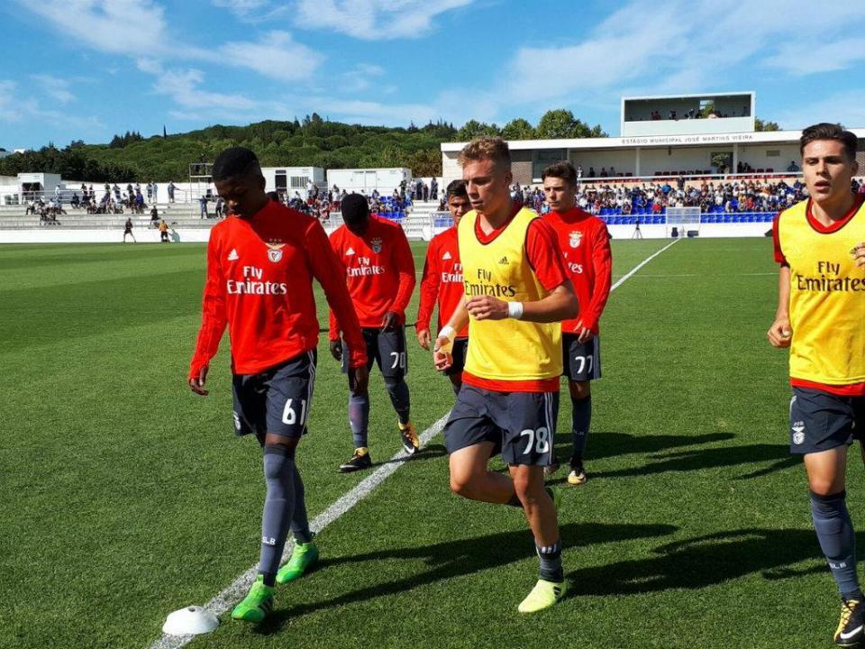 II Liga: Sp. Braga B tira invencibilidade ao Benfica B no Seixal