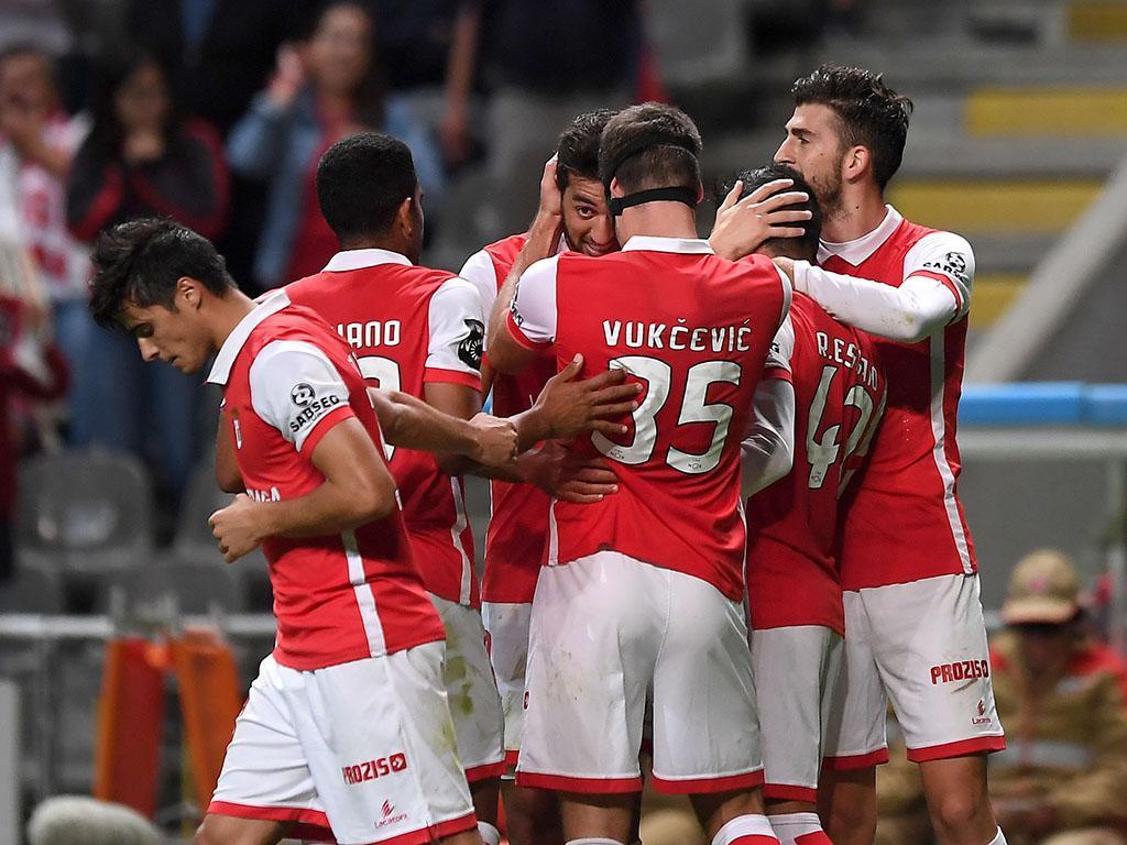 SC Braga perde na Turquia, mas garante primeiro lugar no Grupo C