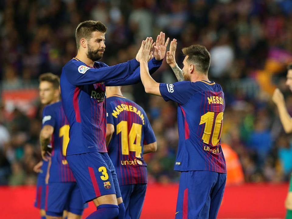 Espanha: Barcelona atropela Eibar com «poker» de Messi