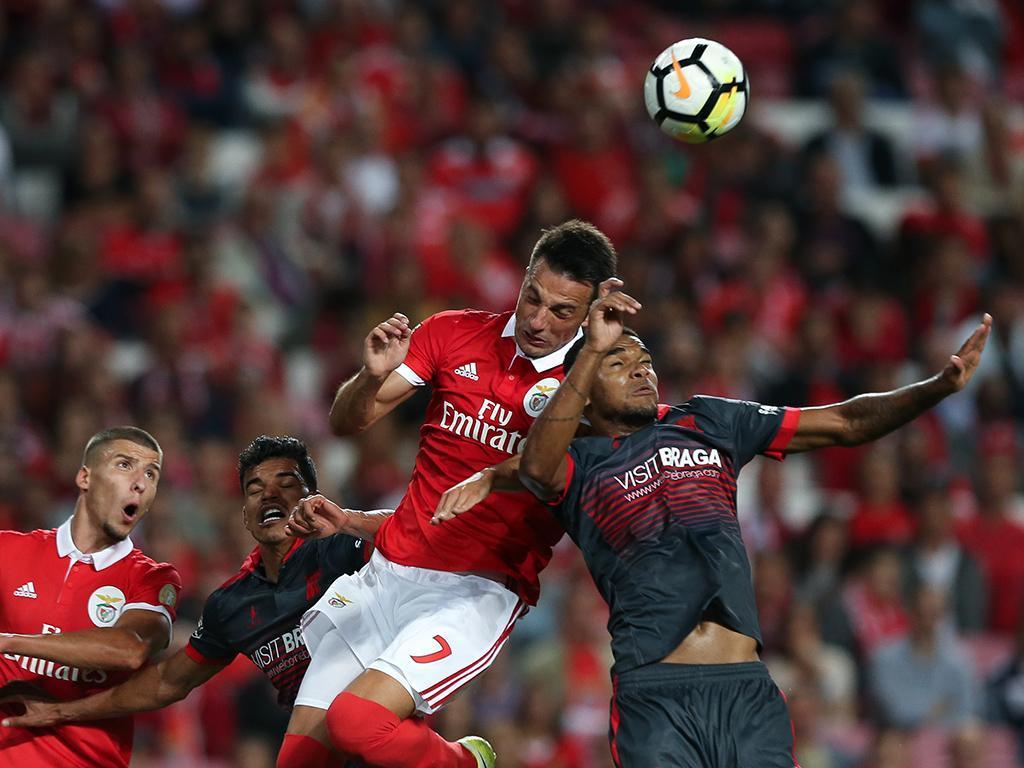 Sp. Braga-Benfica (antevisão): cimeira pelo pódio na pedreira