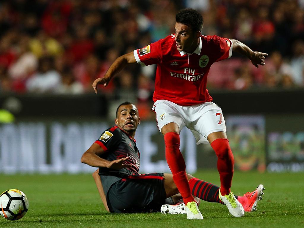 Benfica: recurso por Samaris rejeitado