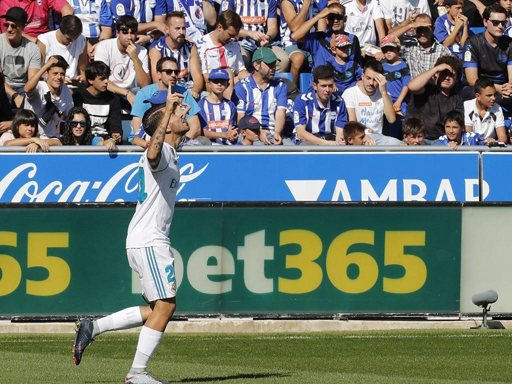 Zidane pediu desculpa a Ceballos pelos 30 segundos em campo