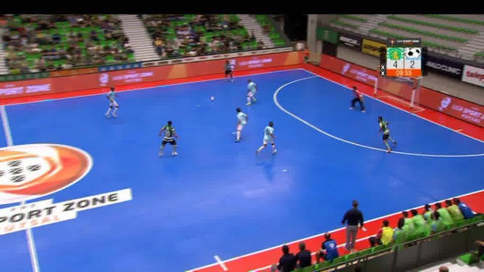 Futsal Azeméis ultrapassa Benfica, Burinhosa-Pinheirense interrompido após confrontos