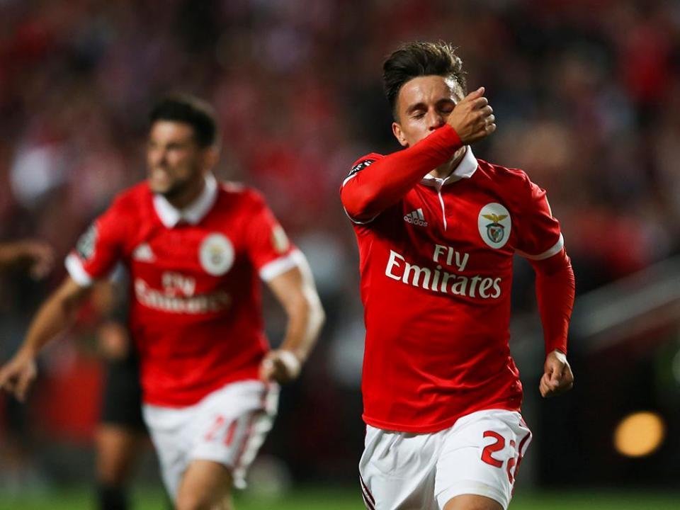 VÍDEO: Cervi dá vantagem ao Benfica em Portimão