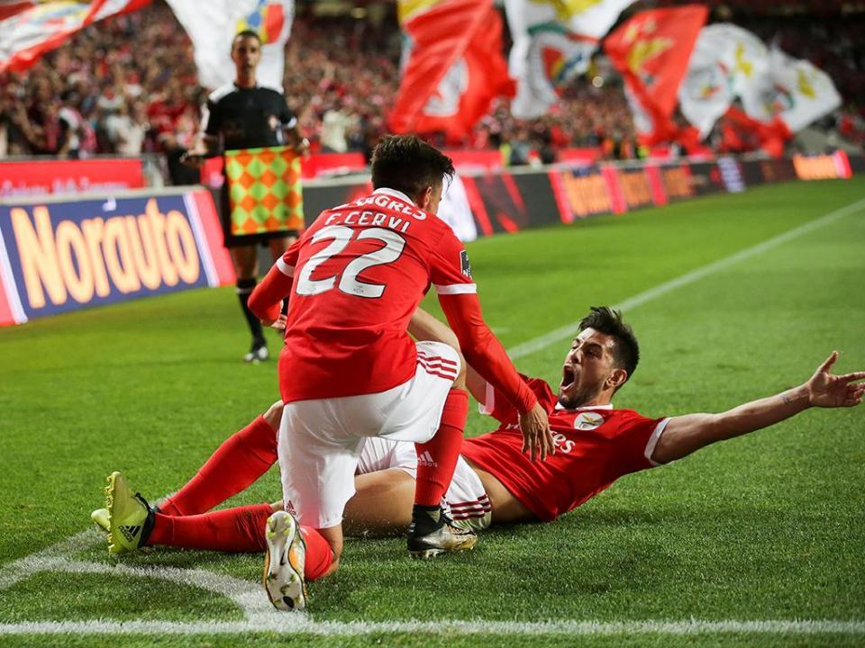 VÍDEO: obra-prima de Zivkovic deu o quinto ao Benfica