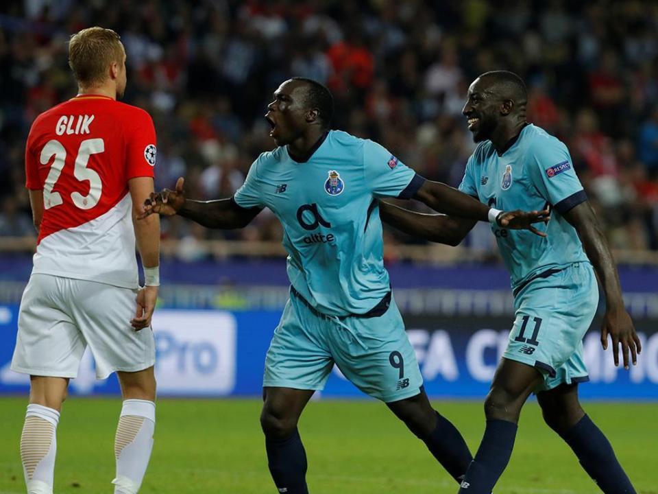 Mónaco-FC Porto, 0-3 (destaques)