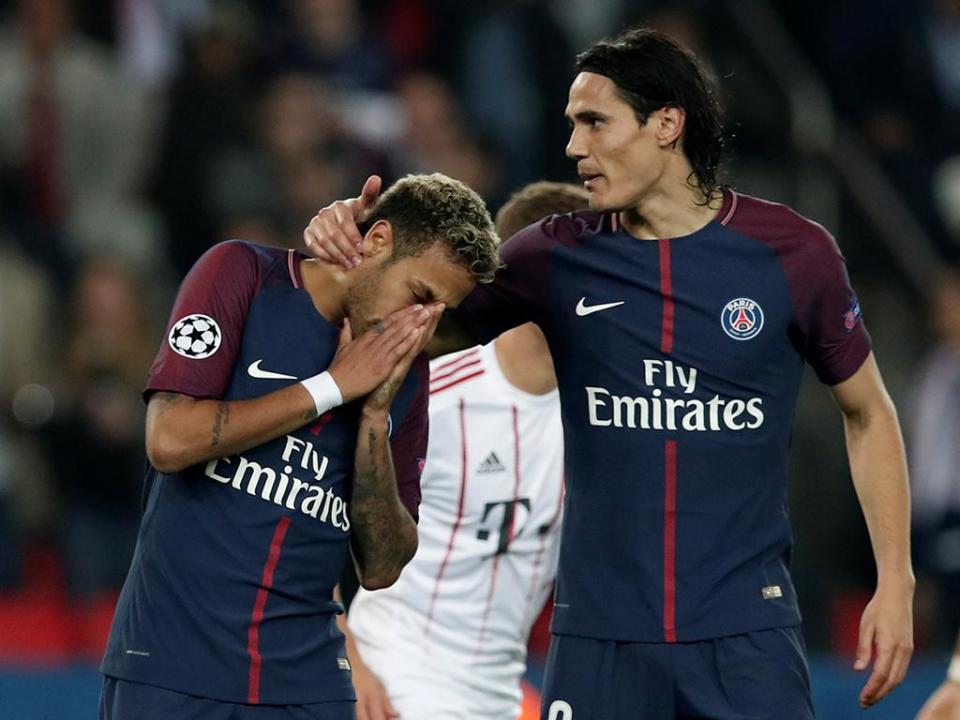 Cavani admite que teve um problema com Neymar