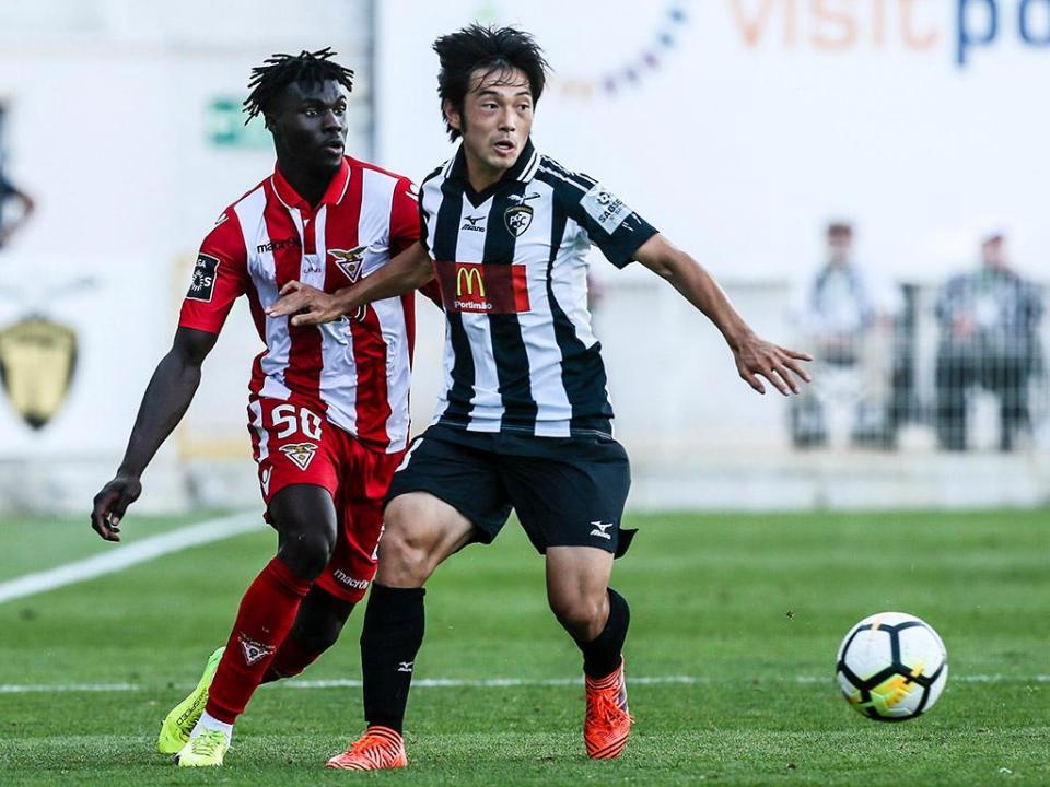 Nakajima: «Gostaria muito de jogar no FC Porto»