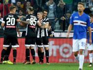 Udinese-Sampdória (Lusa)