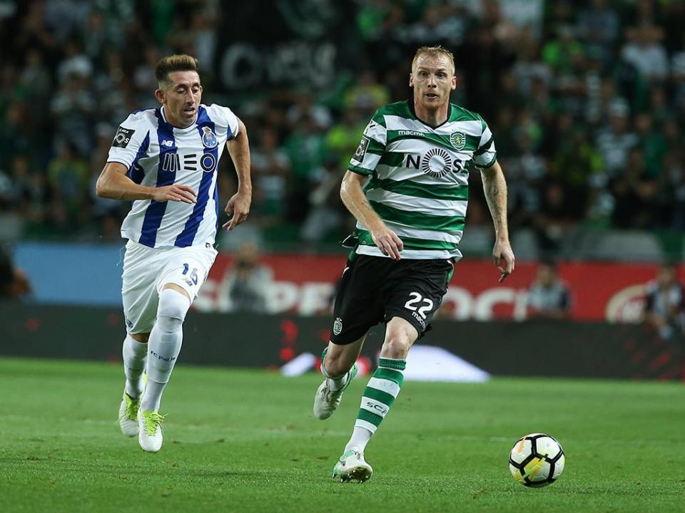 Mathieu: «Se tudo correr bem, acabo a carreira no Sporting»