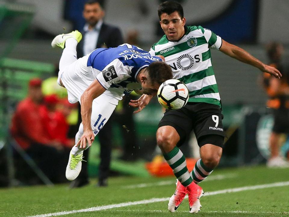 P. Ferreira-Sporting (onzes): Coates e Acuña de regresso