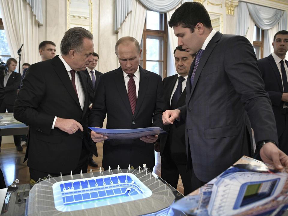 Vladimir Putin: «A Rússia está pronta para o Mundial»