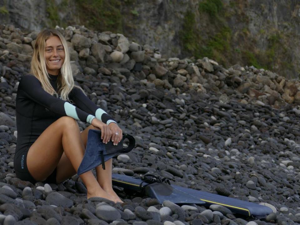 Joana Schenker, a luso-alemã que está a fazer história no bodyboard