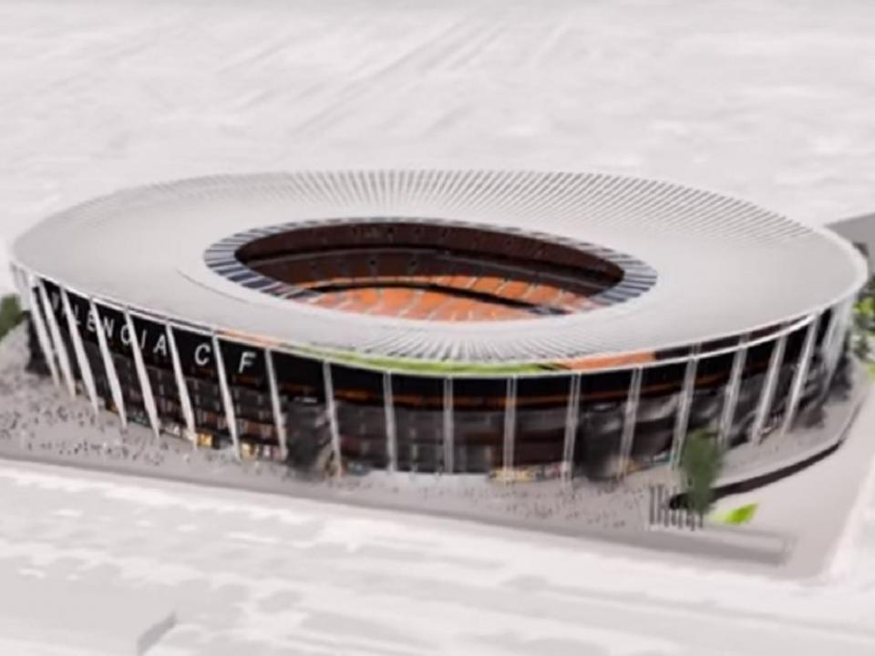 Valência reinicia obra do novo estádio que espera para 2022
