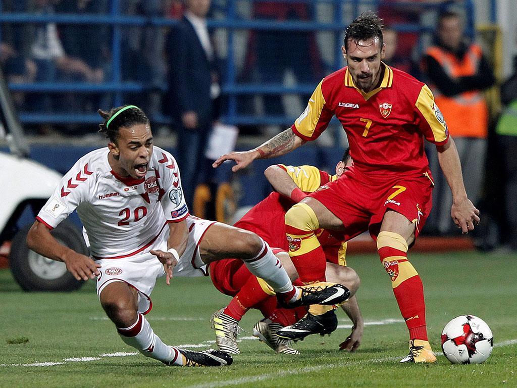Dinamarca vence Montenegro e impede classificação da Polônia à Copa do Mundo
