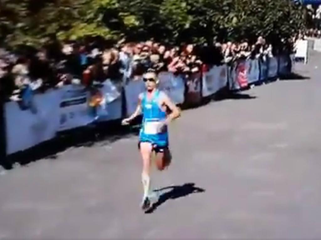VÍDEO: termina a maratona com tudo ao léu
