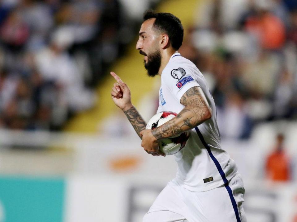 Marselha: Mitroglou falha Sp. Braga por lesão