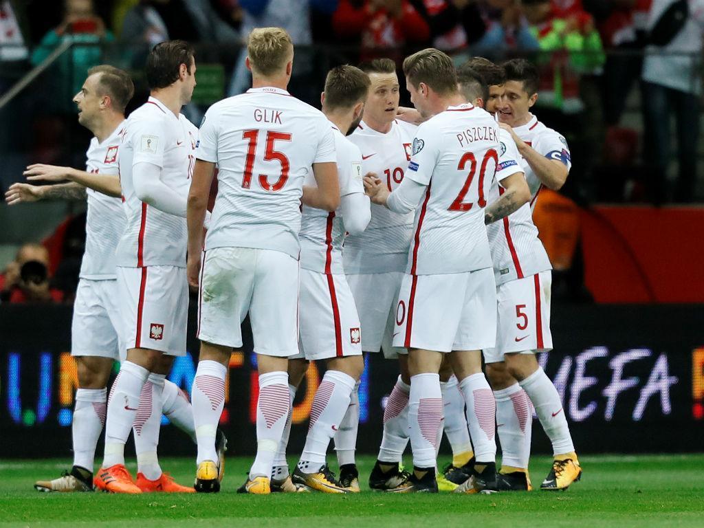 Apuramento Mundial: Lewandowski lidera Polónia para a classificação