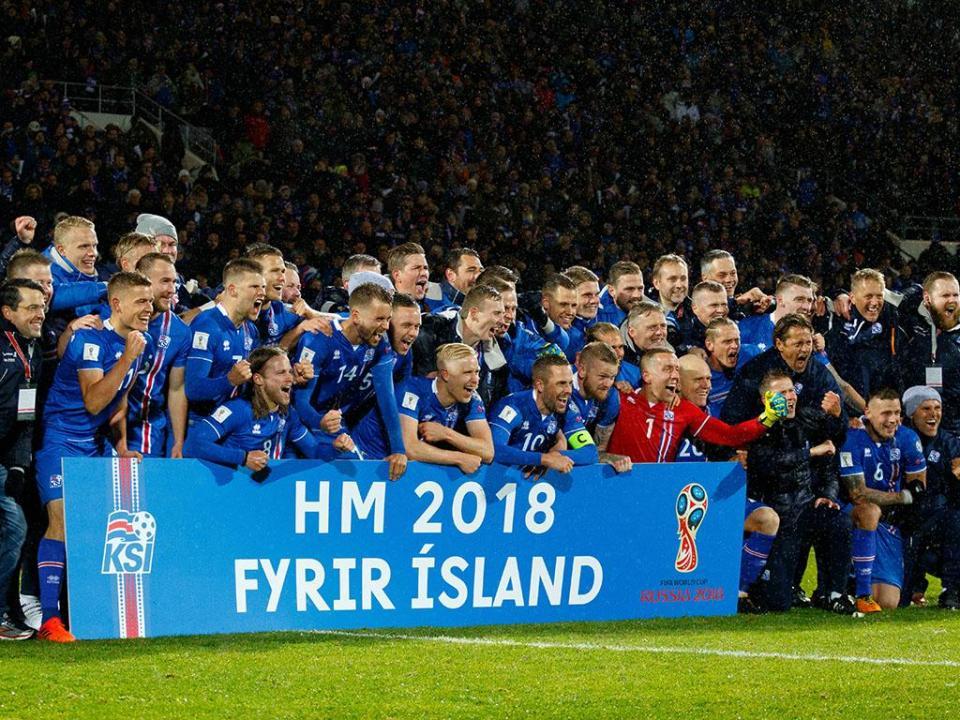 Mundial 2018: os 23 convocados da Islândia