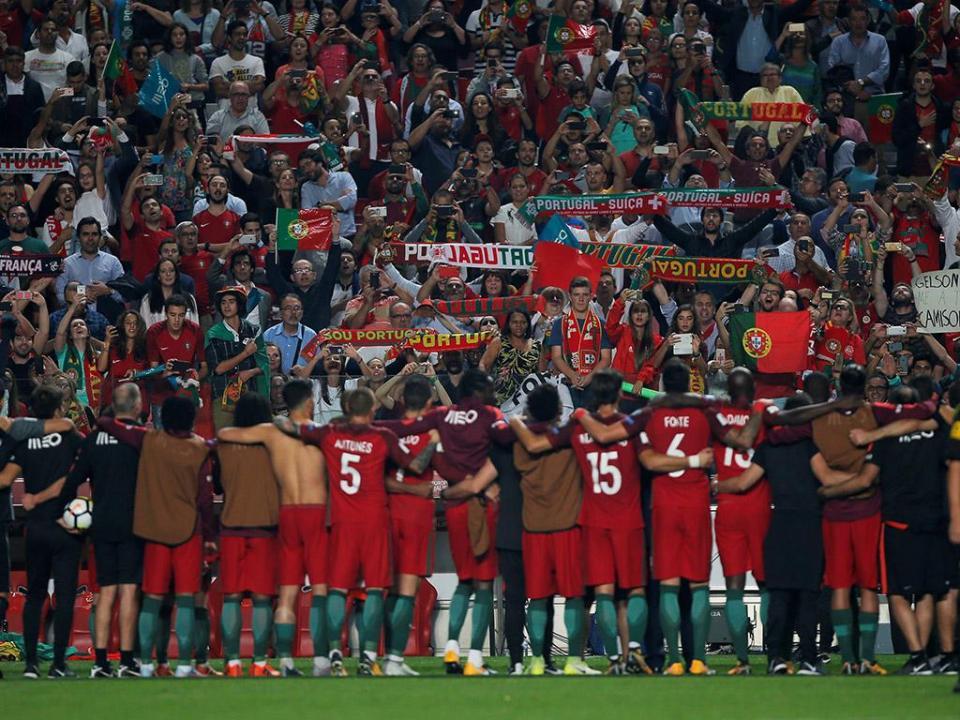 Portugal joga particulares de novembro em Viseu e Leiria
