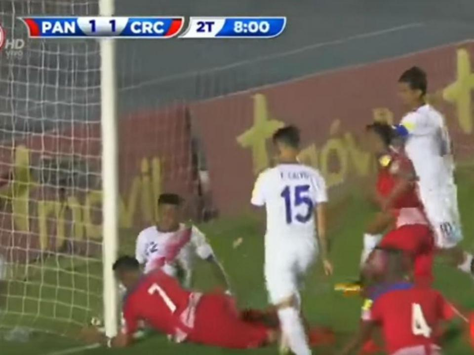 VÍDEO: Panamá no Mundial com «golo fantasma»