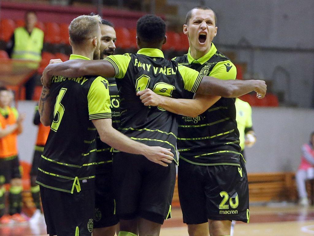 Futsal: Sporting vence dérbi e segue imaculado na frente