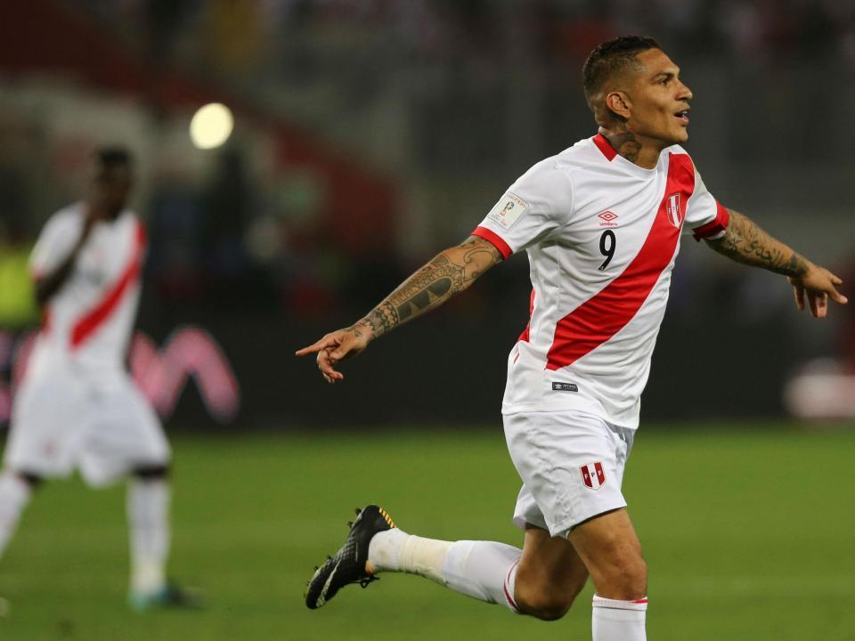FIFA suspende peruano Paolo Guerrero por um ano