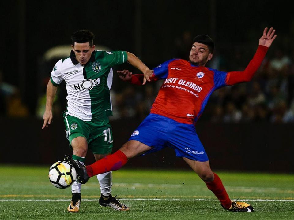 TP: ARC Oleiros-Sporting, 2-4 (destaques)