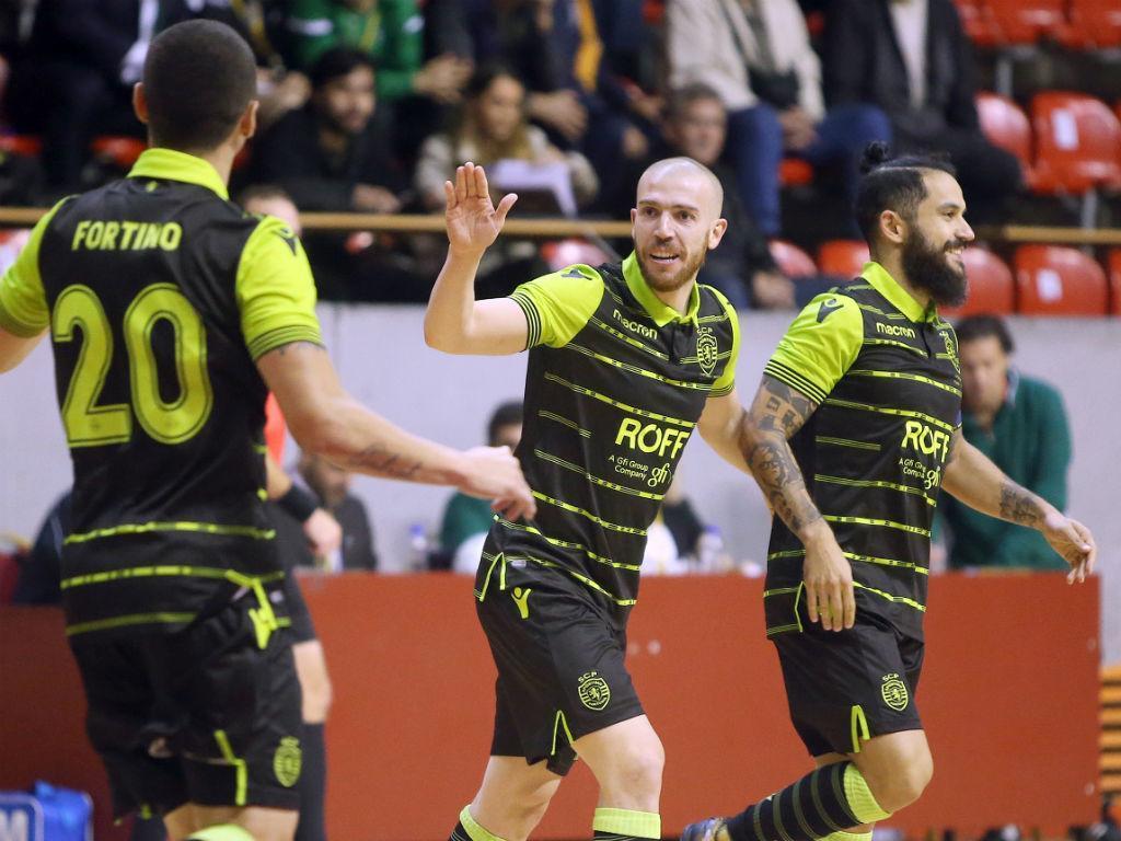 Sporting apura-se para a final da UEFA Futsal Cup com goleada