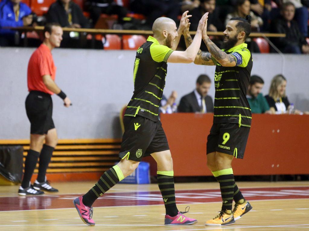 Futsal: Sporting enfrenta Pinheirense na Taça da Liga