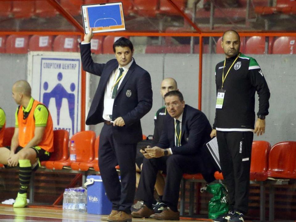 Futsal: Sporting soma sétima vitória em sete jogos