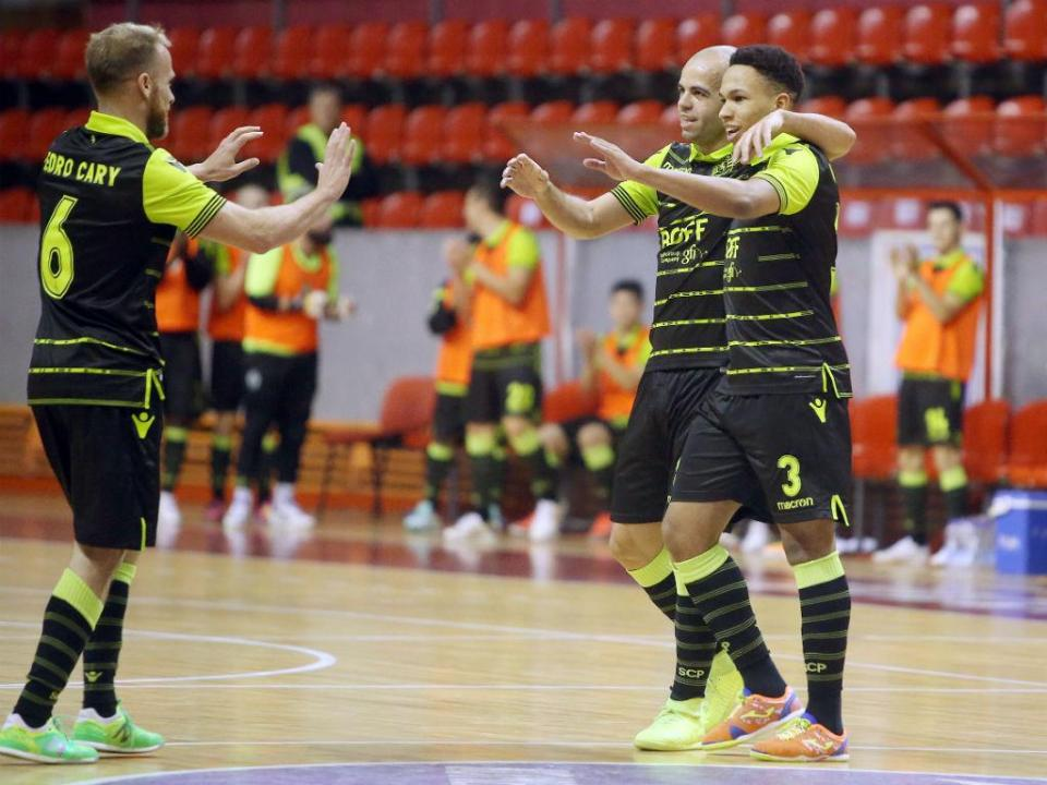 Futsal: Sporting vence Modicus e reassume liderança isolada