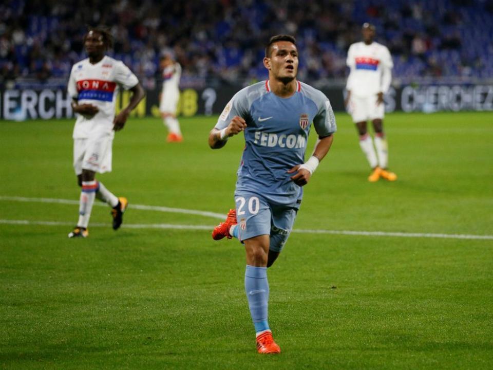 Rony Lopes marca pelo sétimo jogo seguido, Mónaco vence Nantes