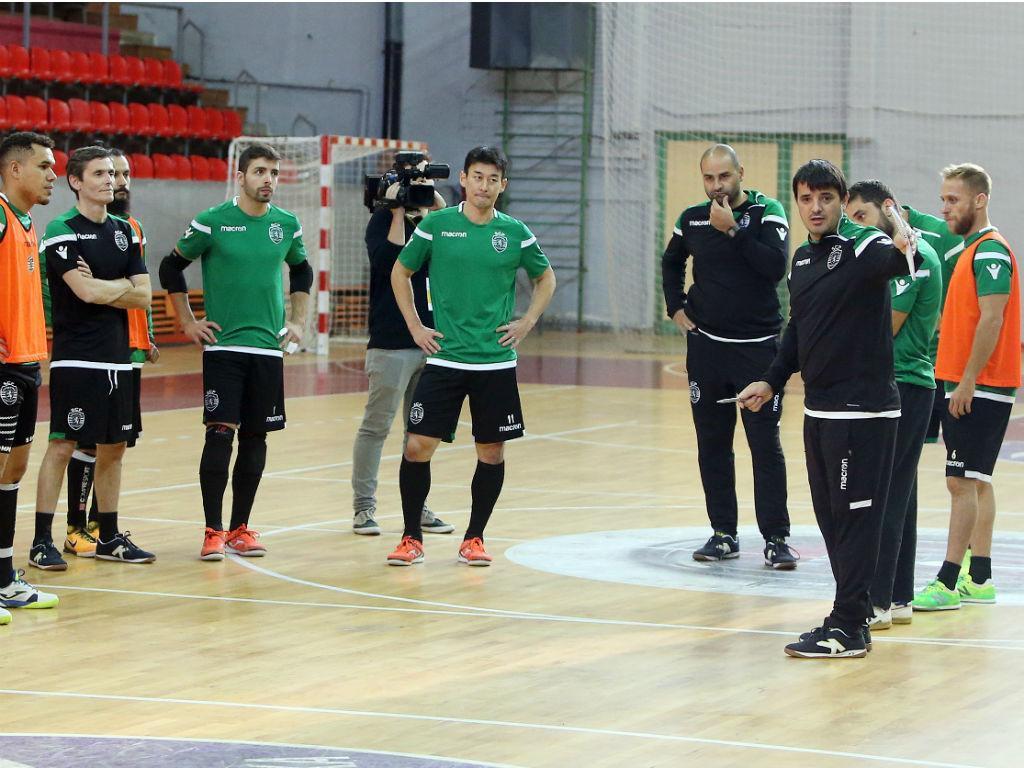 Sporting na final da Taça da Liga — Futsal