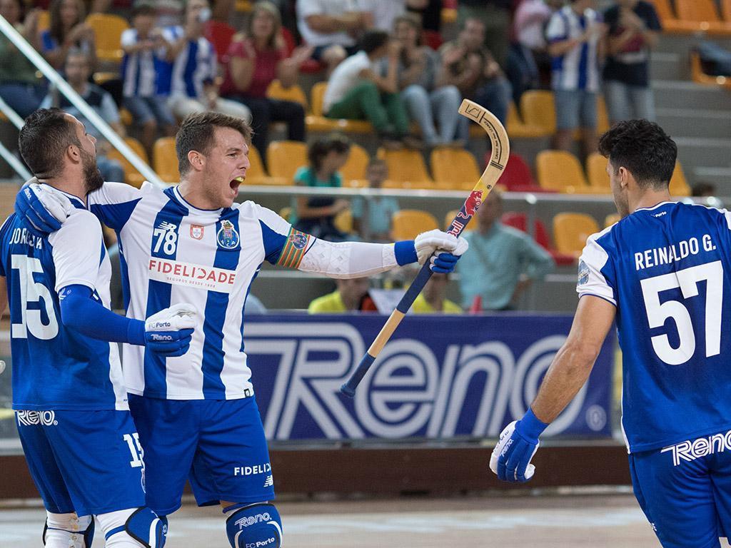 Hóquei em patins: FC Porto goleia Follonica em Itália