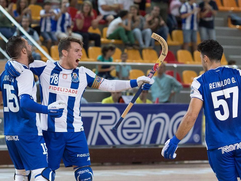 Hóquei em patins: FC Porto garante «quartos» da Liga Europeia