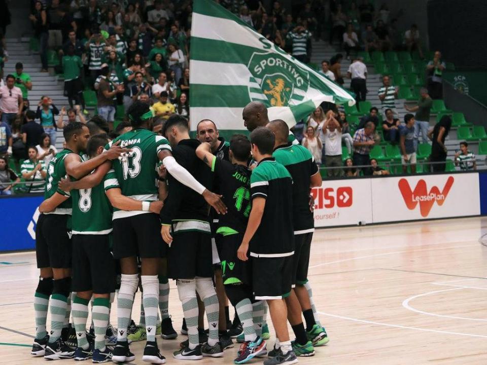 Voleibol: Sporting vence Esmoriz e fica a um ponto do Benfica