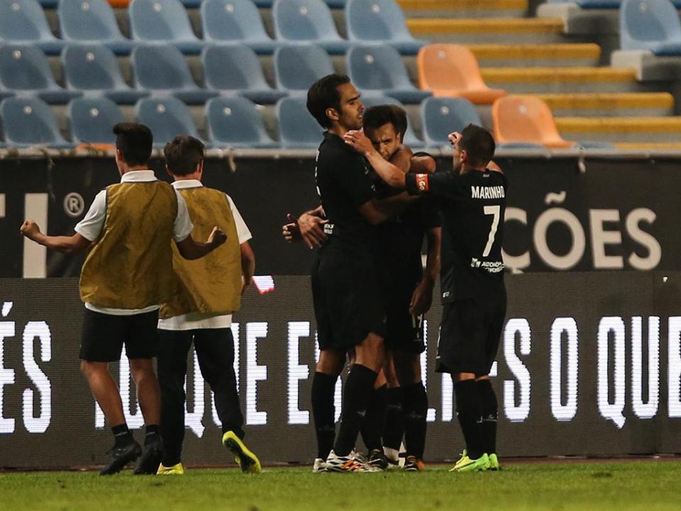 II Liga: Académica bate Penafiel com golo aos 85 minutos