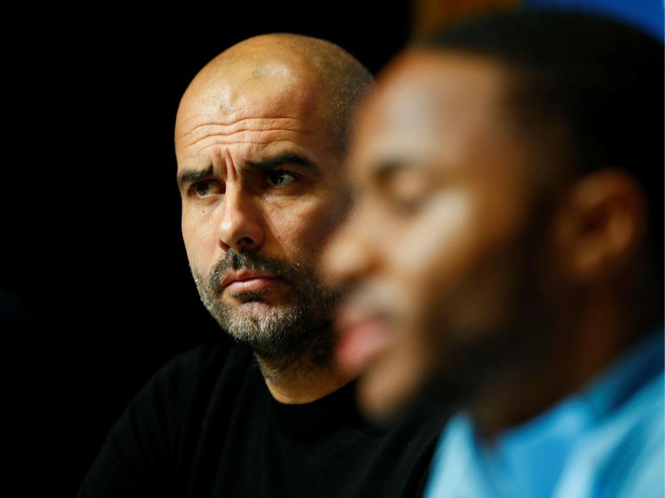 Guardiola e a reação com Redmond: «Não me consigo controlar»
