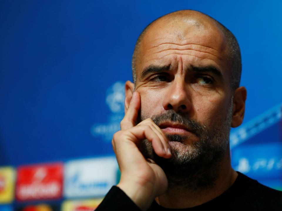 Guardiola: «Favoritos a ganhar a Champions? Em que equipa joga Messi?»