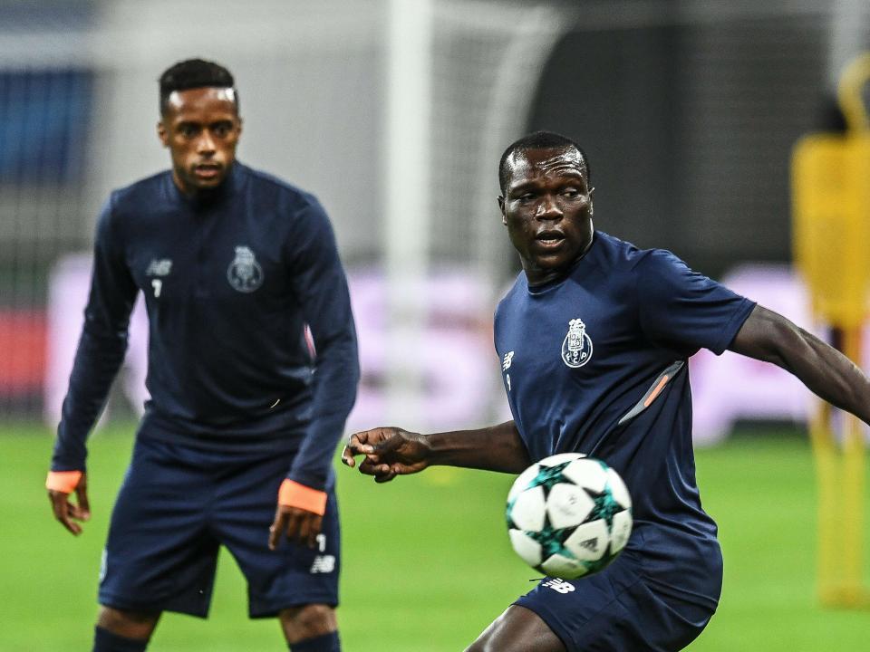 FC Porto: Aboubakar de regresso