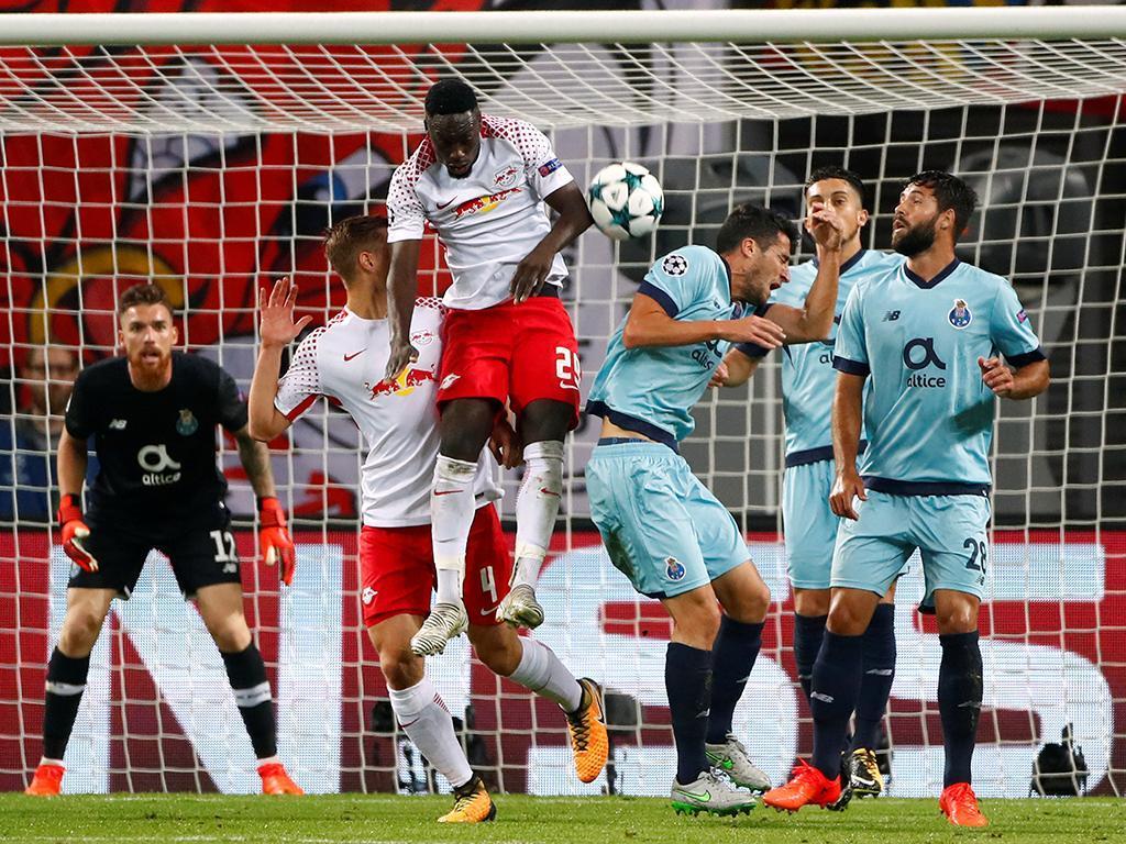 LC: RB Leipzig-FC Porto, 3-2 (resultado final)