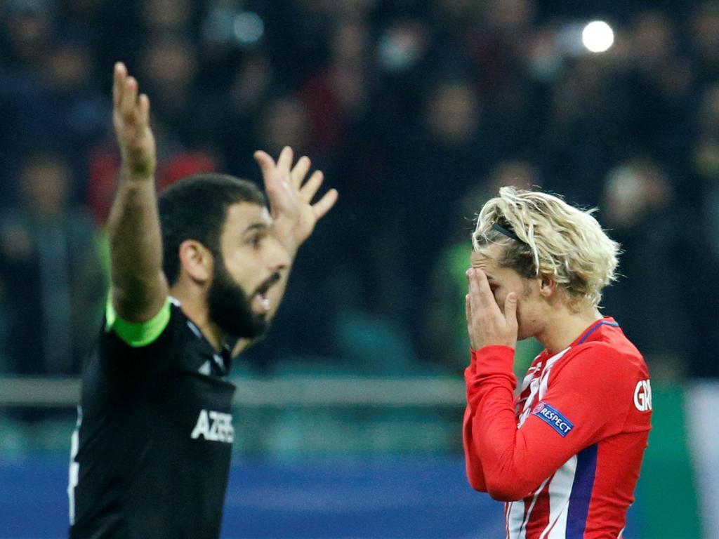 Diego Simeone lamenta empate do Atleti contra Qarabag:
