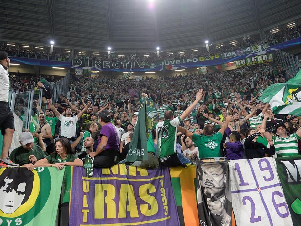 Sporting com quase quatro mil adeptos em Madrid