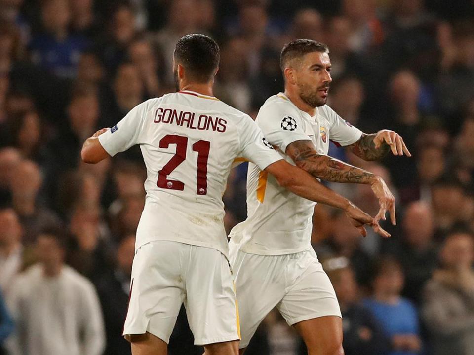 «Se vencermos o Chelsea, qualificamo-nos», acredita Roma