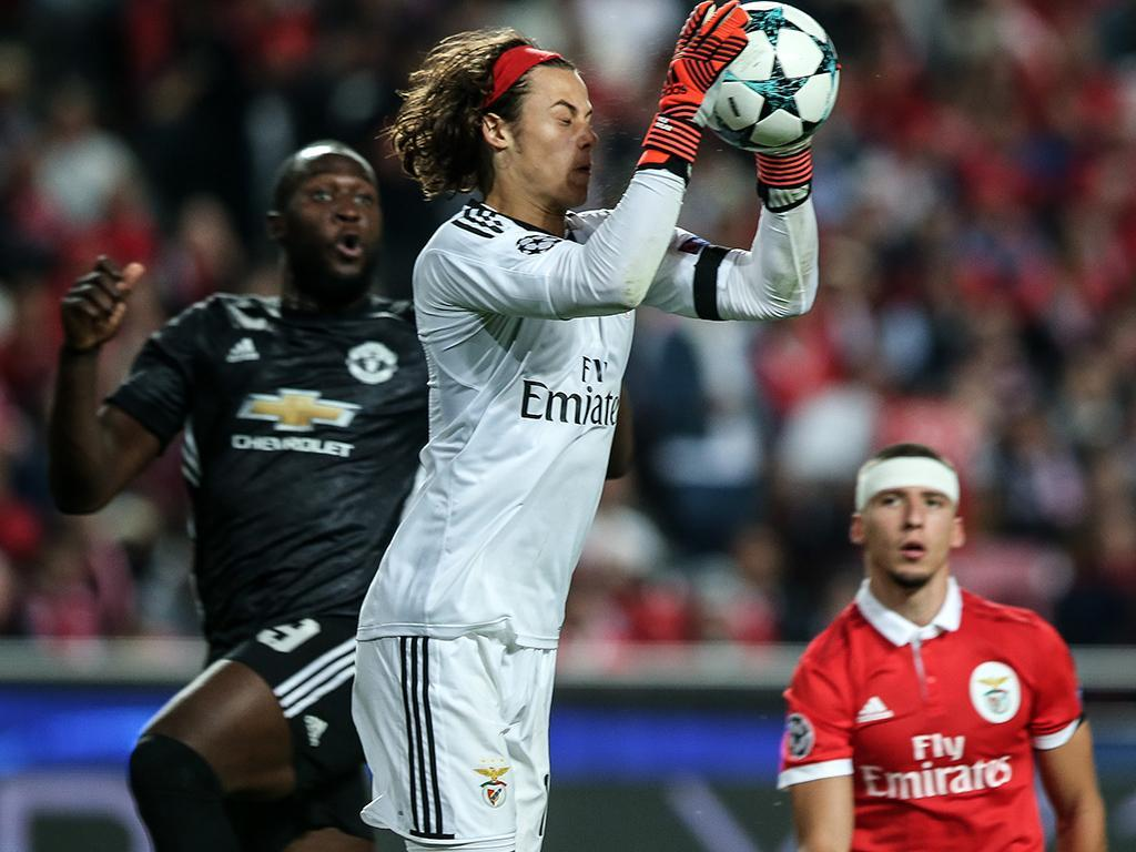 Svilar revela o que Lukaku lhe disse após o Benfica-Man. United