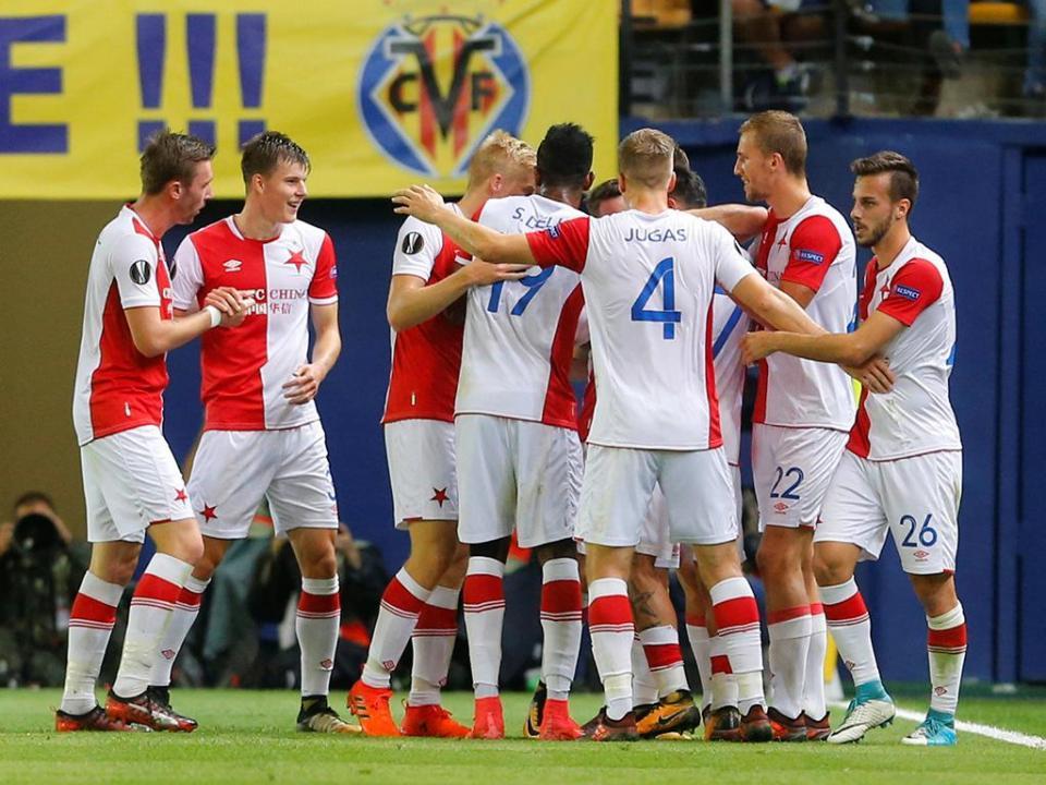 Slavia de Danny vence Taça da República Checa 16 anos depois