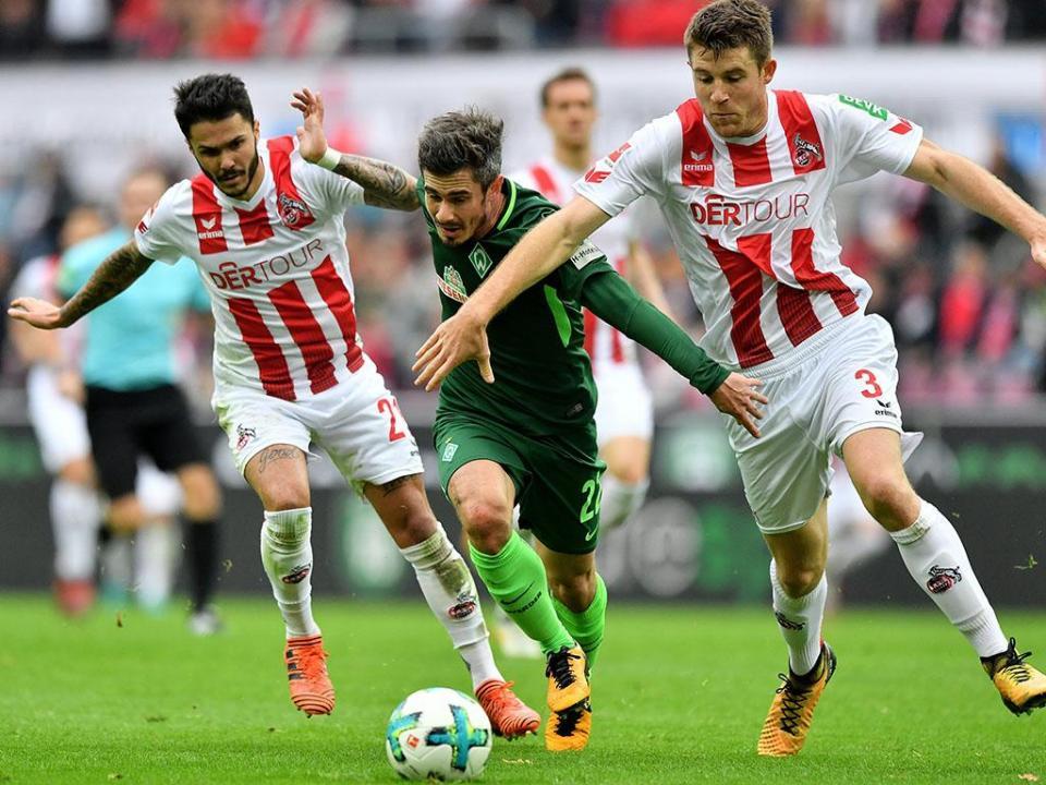 Alemanha: Colónia e Werder Bremen não saem do nulo