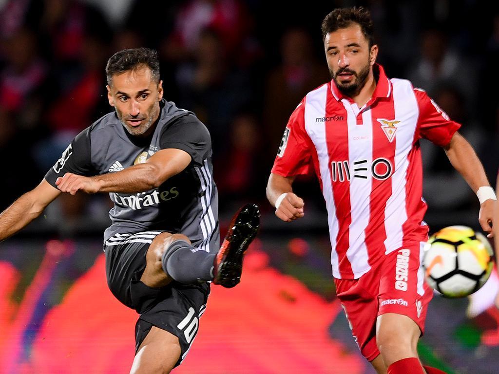 Desp. Aves-Benfica, 1-3 (destaques)