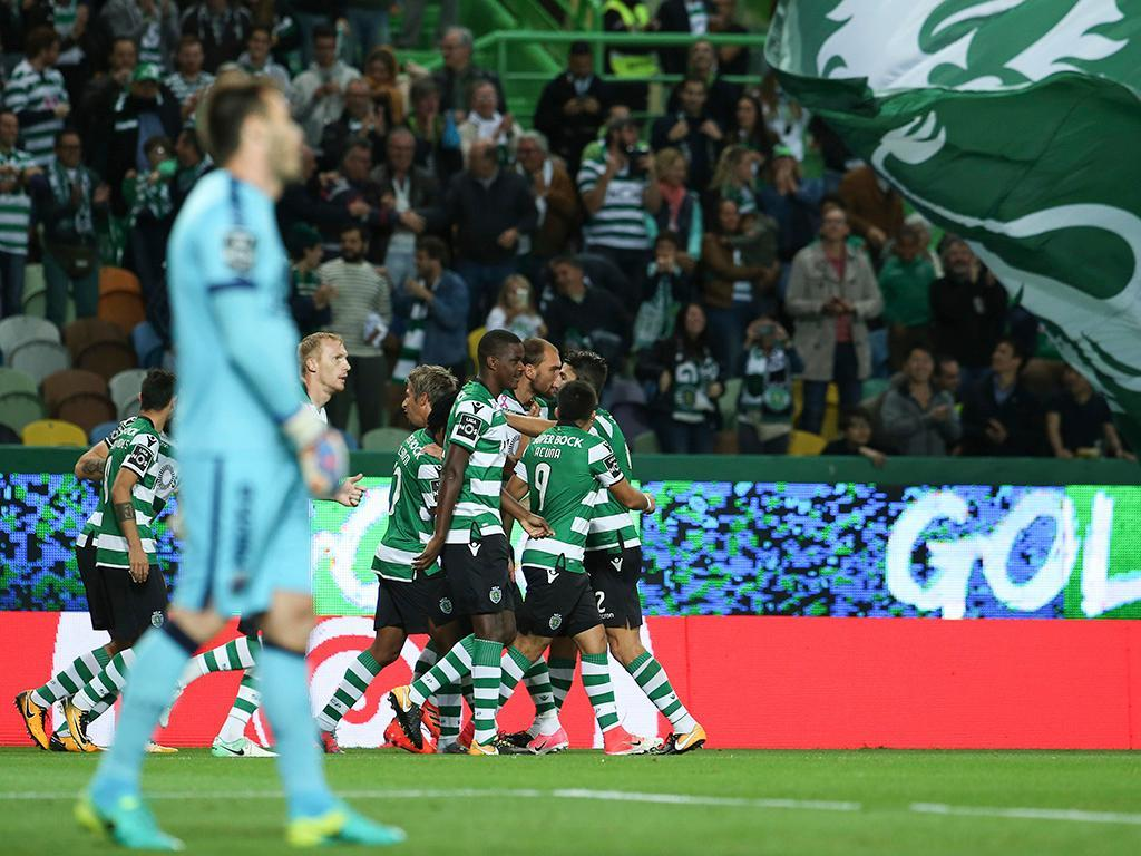 Sporting-Desp. Chaves, 5-1 (resultado final)